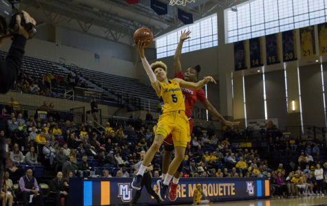Hiedeman paces Marquette in blowout over Butler