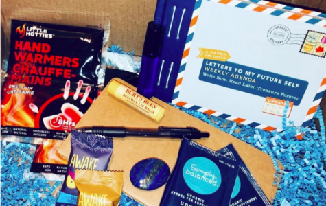 Business students create self-care box to better mental health for others