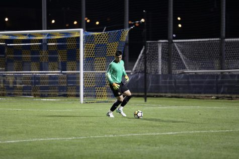 Prpa nets six points in 4-0 men's soccer victory