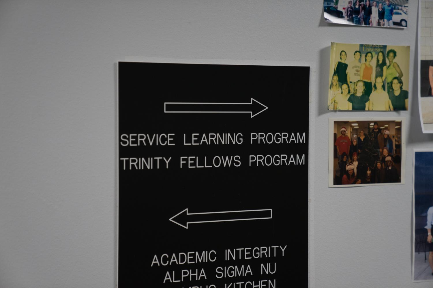 The Trinity Fellows program is being recognized by the Peace Corps.