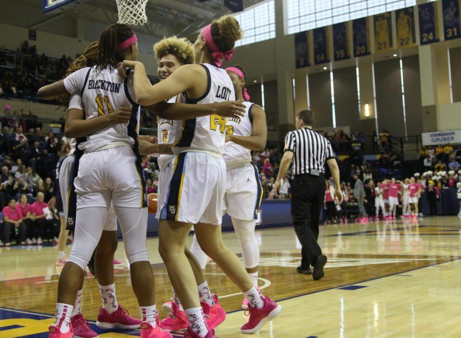 Women's basketball rebounds after first BIG EAST loss