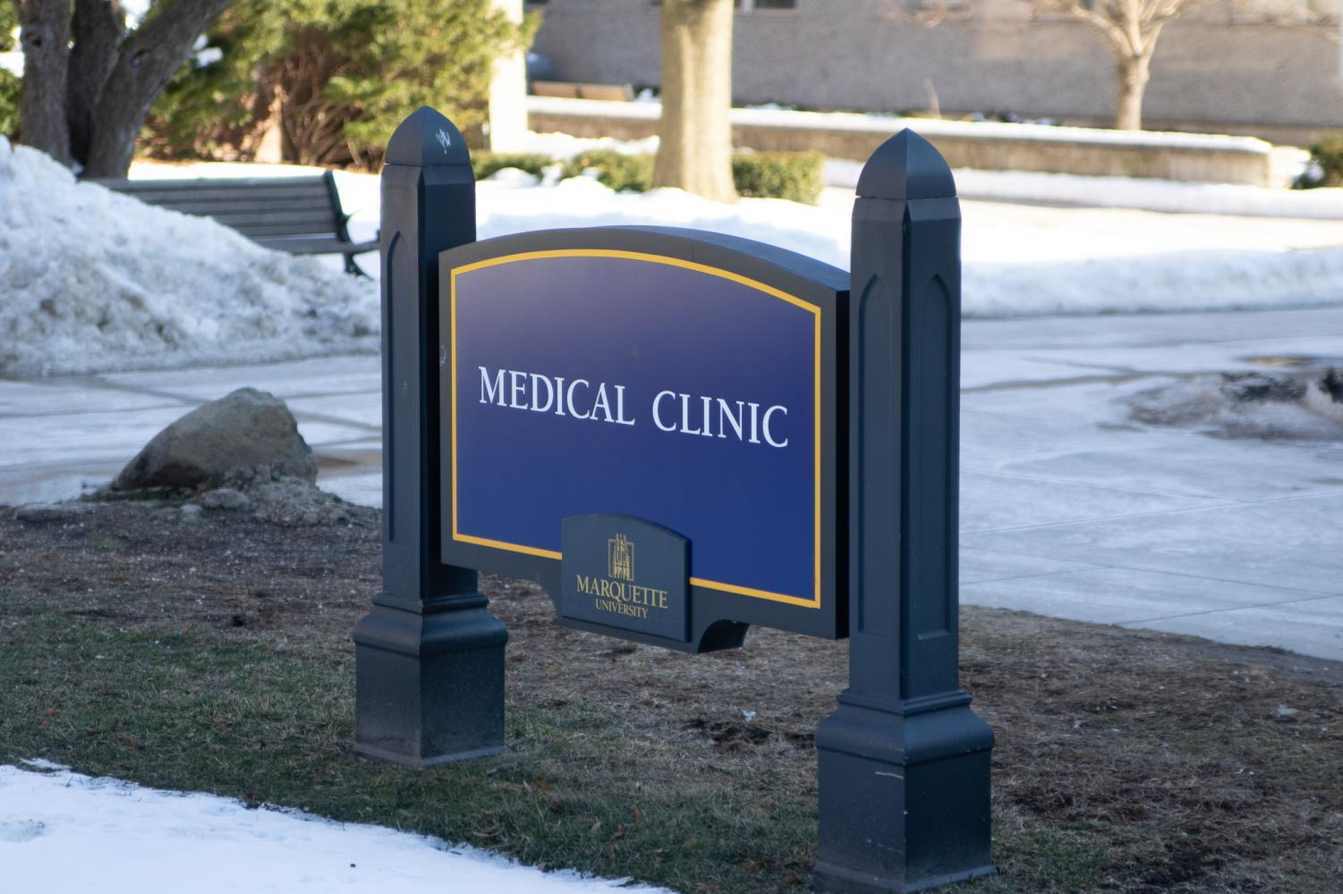 Marquette's medical clinic is in immediate contact with the Milwaukee Health Department when diseases are reported on campus.