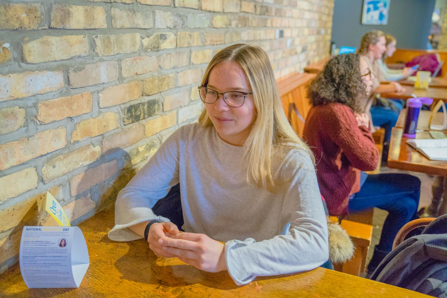 Kamila Turczewski, a freshman in the College of Engineering, talks about her experience as a female engineer.