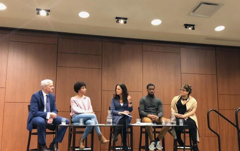 Soledad O'Brien moderates diversity panel with President Lovell and students