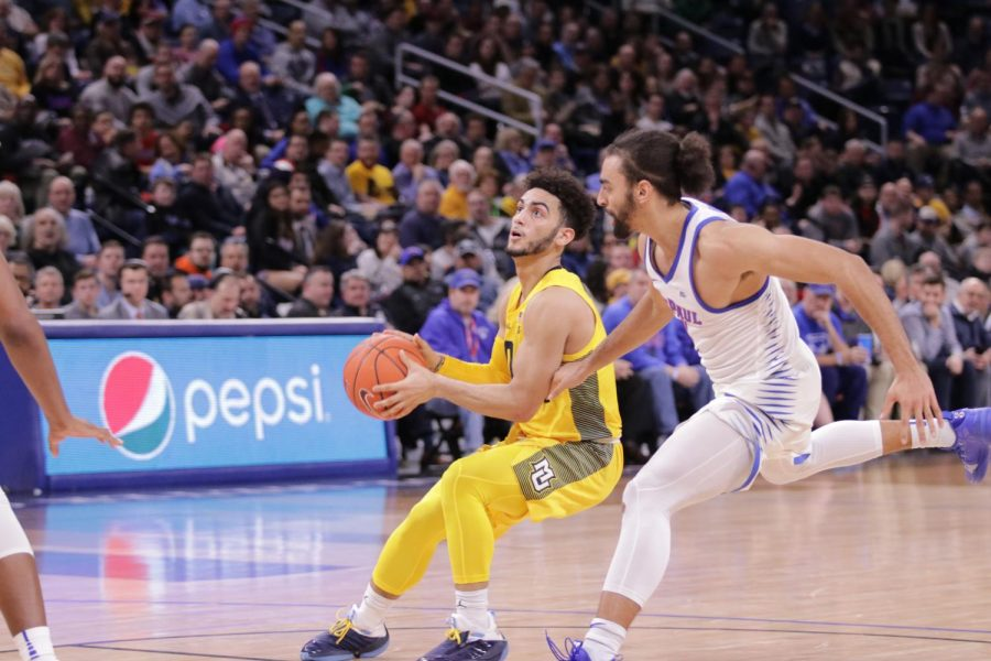 Howard's 36-point performance helps No. 10 Marquette overcome DePaul's post attack