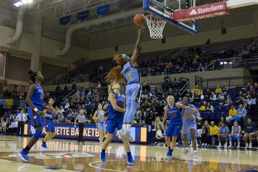 Women's basketball travels to BIG EAST rival DePaul Sunday