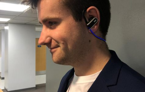 Sophomore heads to BIG EAST Startup Challenge for his light-up headphones