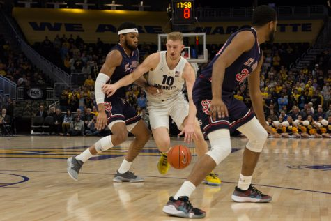 Active offseason creates difficult rebuild for Marquette