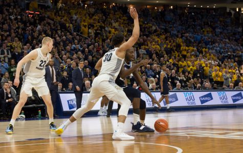Defensive stop in final seconds ensures National Marquette Day victory over Villanova