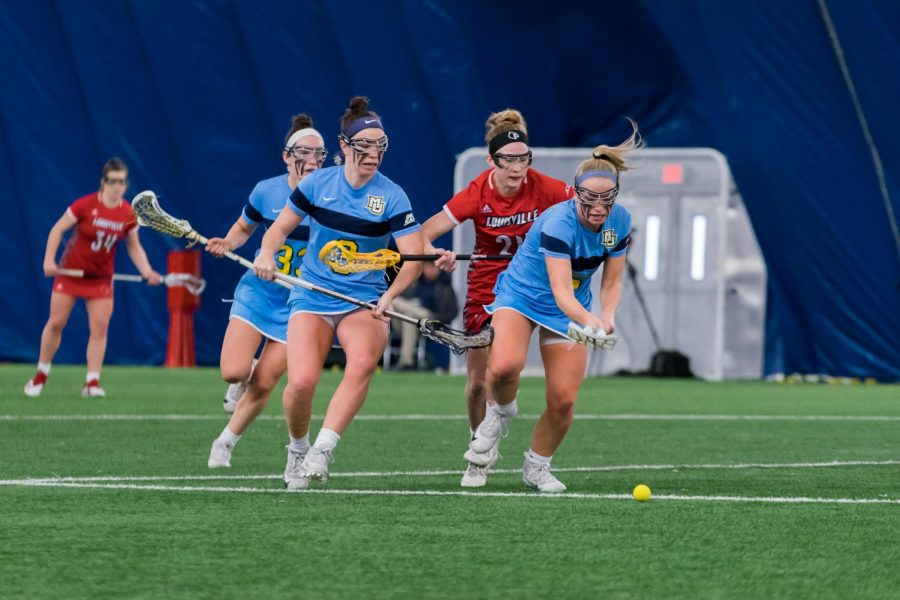 Women's lacrosse beats Kennesaw State 19-15 despite lethargic start