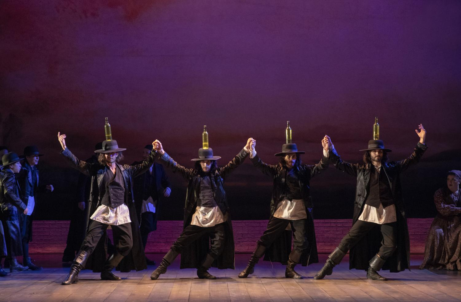 Fiddler on the Roof will be at the Marcus Center through Sunday.