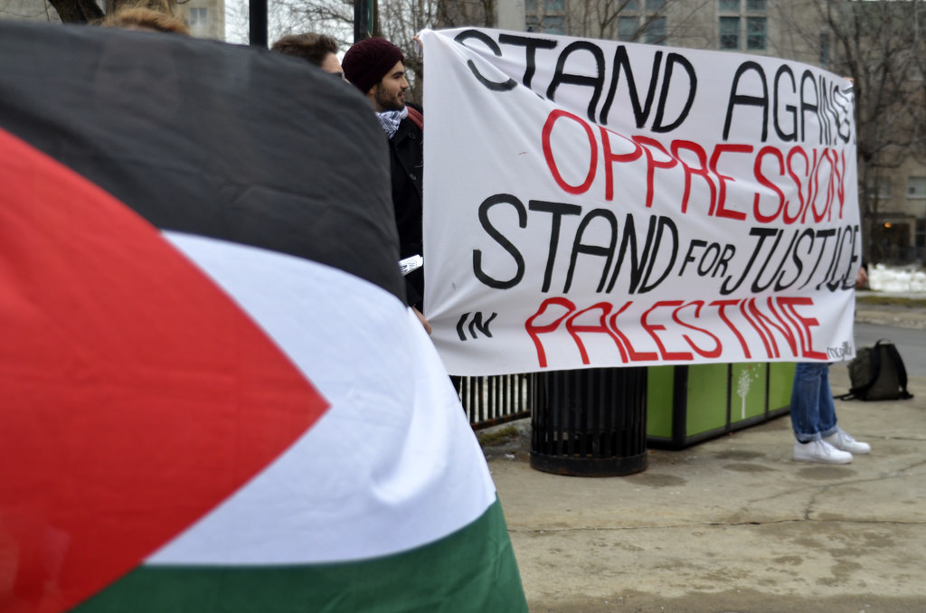 The BDS group demands Palestinian rights through refraining from business and cultural interactions with Israel.