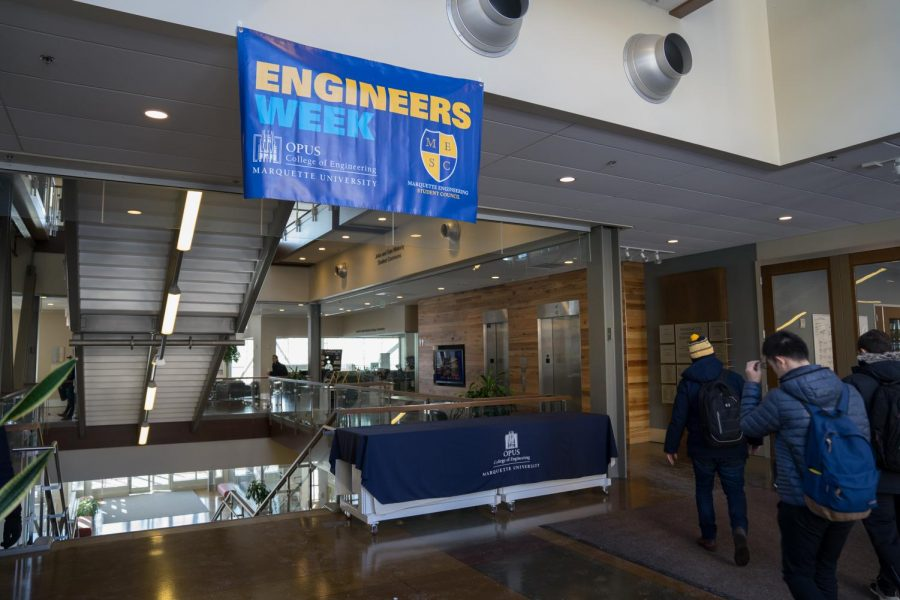 Engineers Week will take place all week and finish up with the E-Ball Saturday.