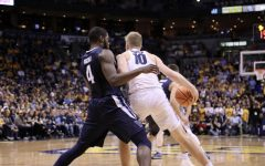 Paschall, Booth provide challenges for No. 10 Golden Eagles on National Marquette Day