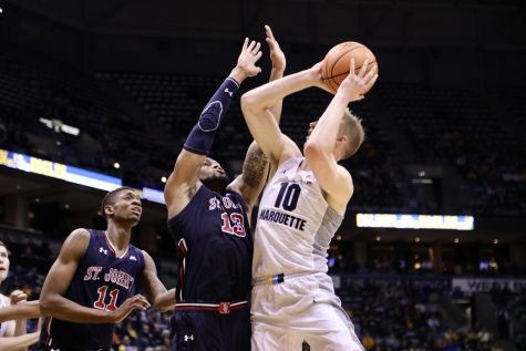 FLOOR SLAPS: Marquette survives NIT scare thanks to free throws