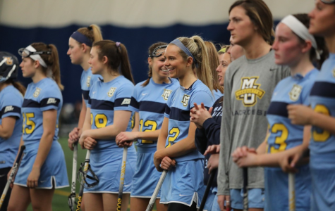 Women's lacrosse players connect with family through sport