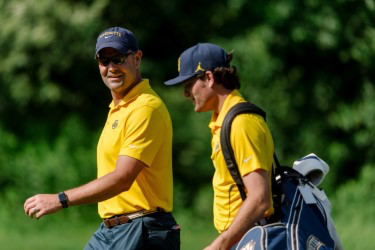 Leach, Eichorn Win BIG EAST Male Golfer of the Week back to back