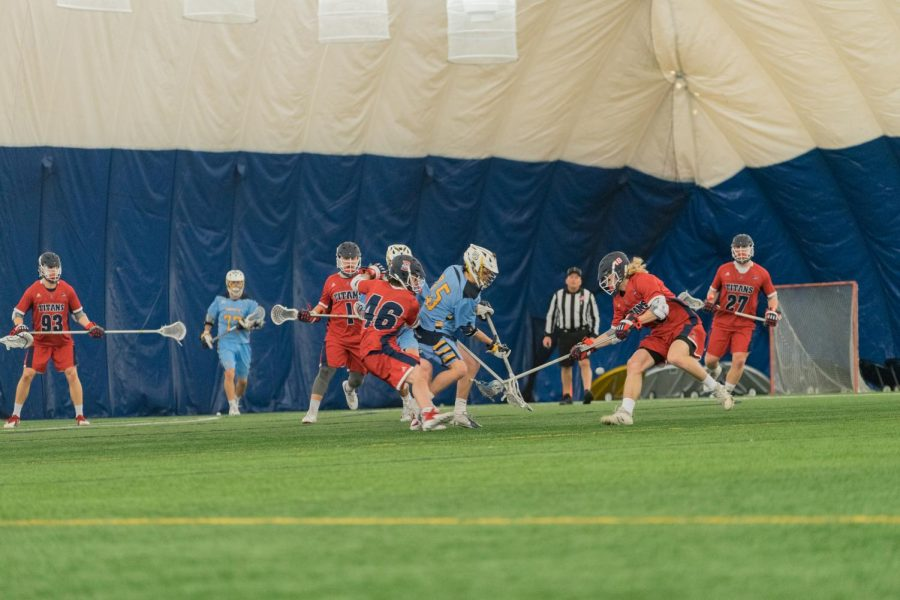 Men's lacrosse suffers first loss of season to Detroit Mercy