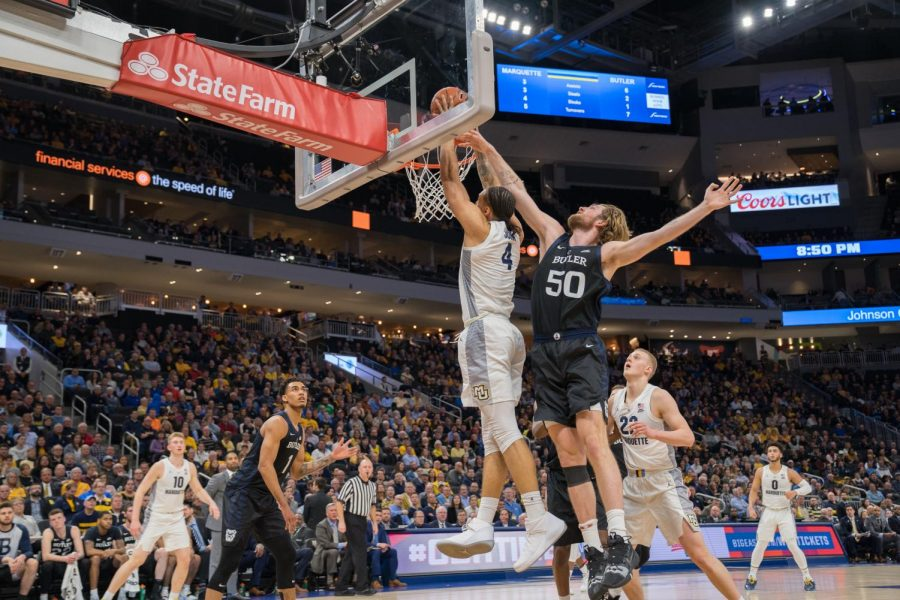 Three takeaways: Men's basketball moves to first place in BIG EAST with win over Butler
