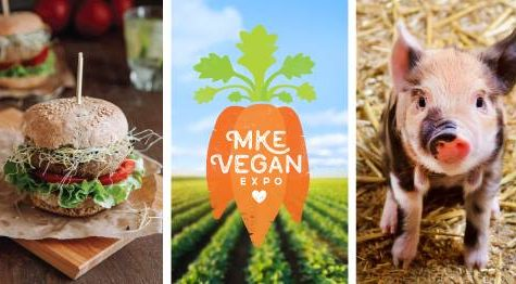 This weekend's vegan expo will be the 4th annual hosted by Milwaukee Vegan Expo.  Photo via Facebook