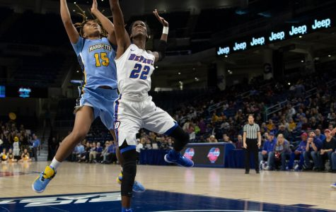 Three takeaways: Free-throw struggles, Stonewall's and-one hand DePaul BIG EAST Tournament title