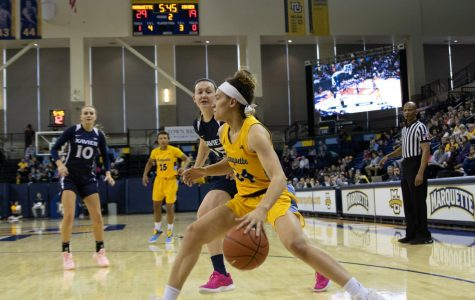Women's basketball secures sole possession of BIG EAST regular season title with win over Providence