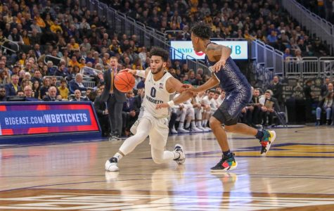 Men's basketball loses fourth straight game, misses out on BIG EAST regular-season title