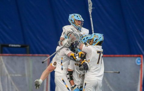 Men's lacrosse stuns No. 14 Georgetown