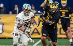 Hershman's success helps men's lacrosse capture win against Michigan