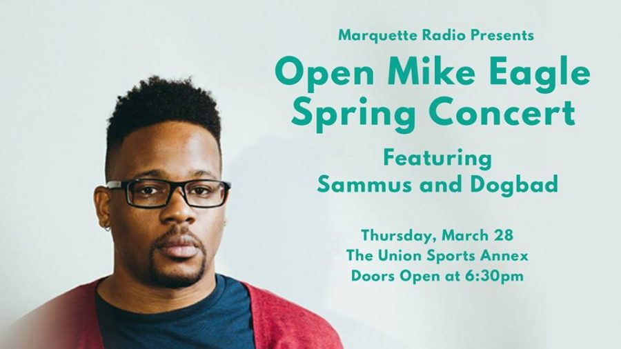 Open Mike Eagle will begin his tour with a stop at Marquette Thursday.  Photo courtesy of Marquette Radio