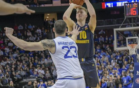 Turnovers, late misses result in No. 16 Marquette's third consecutive loss