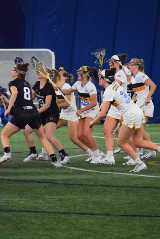 Women's lacrosse gets only conference win in season finale
