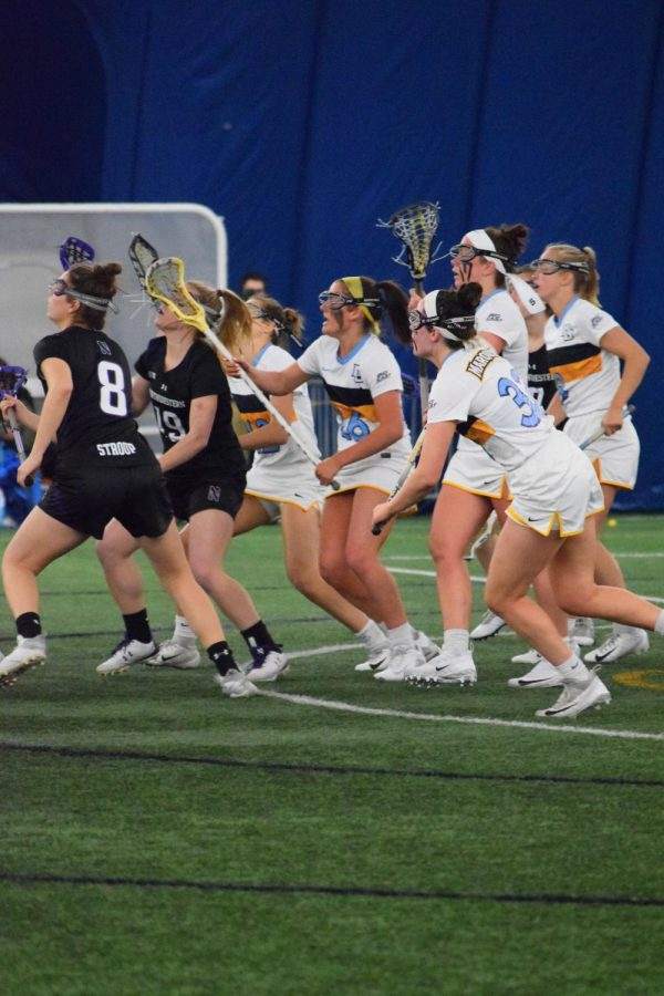No. 11 Northwestern routs Marquette at Valley Fields