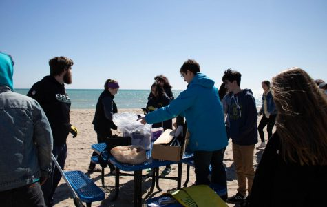 Ocean Conservation Club participates in clean-ups