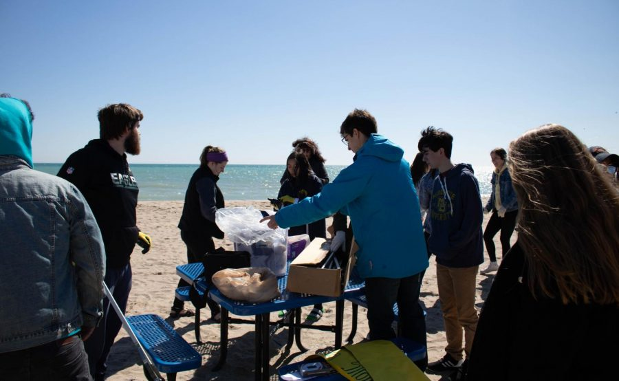 The+Ocean+Conservation+Club+and+SEAC+hosted+cleanups+this+weekend.+