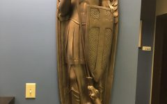 Local art studio donates statue to MUPD