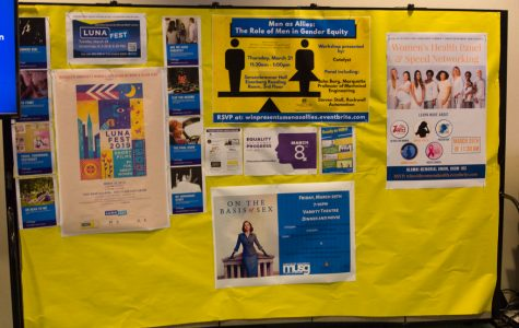 Women's History Month at Marquette