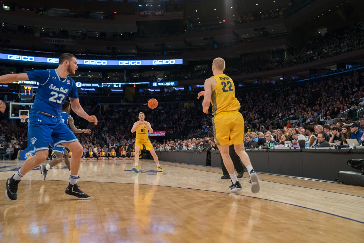 a400ff4b4b4b60 Hauser brothers bring competitiveness to NCAA Tournament – Marquette ...
