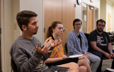 Students discuss search for new provost