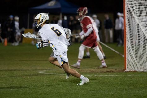 PREVIEW: Men's lacrosse to play inaugural Valley Fields night game versus Notre Dame