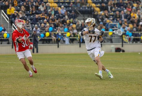 Men's lacrosse unable to topple No. 9 Ohio State