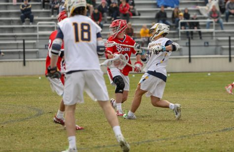 Men's lax transfer Storrs adopts 'scout team mentality' in first year at Marquette