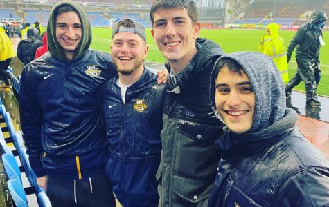 Men's soccer experiences traveling the world