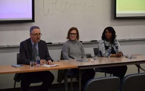 Panel hosts experts, activists and survivor of human trafficking