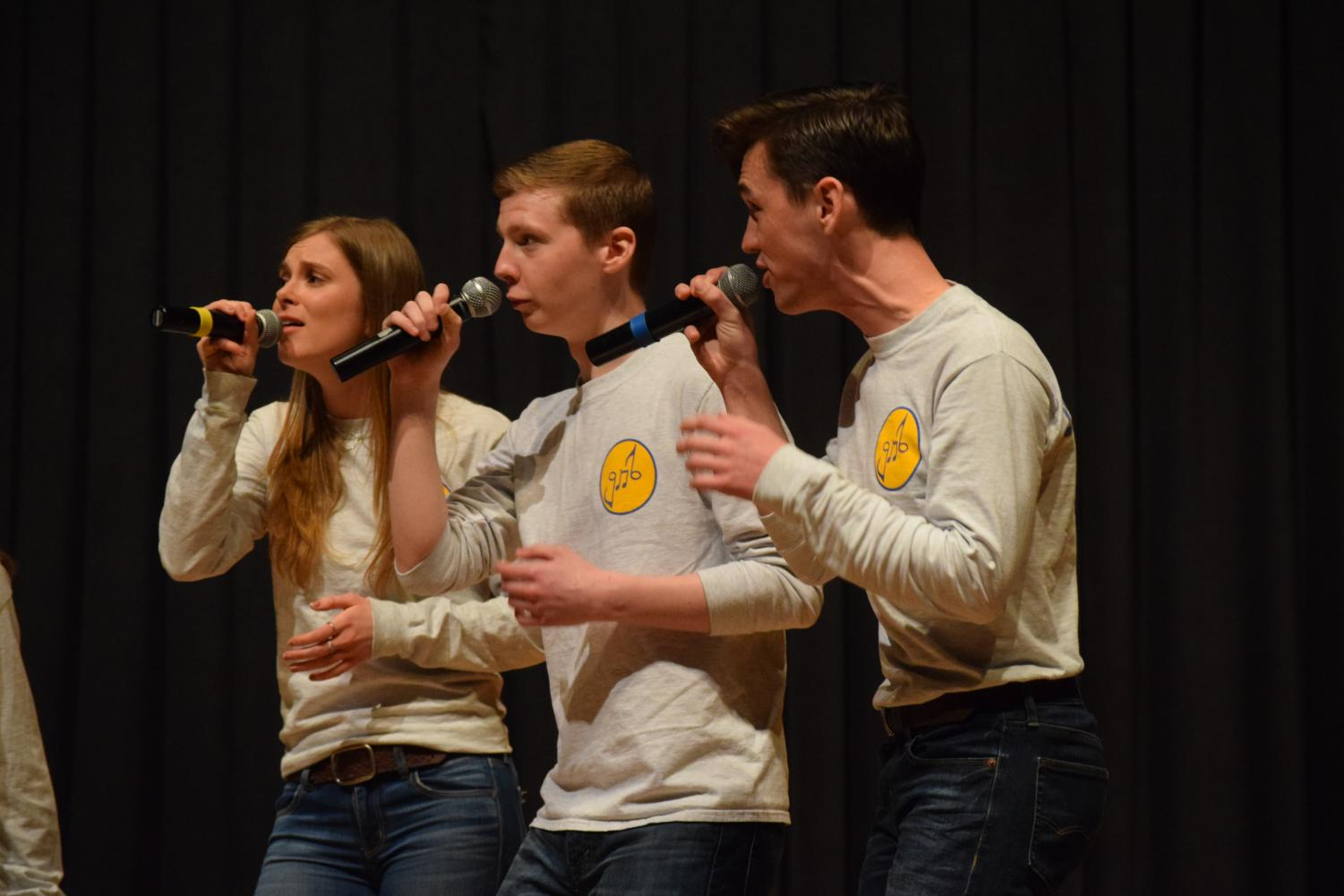 Gold 'n Blues seniors will get to perform their own solo songs as well as taking part in the group performances.