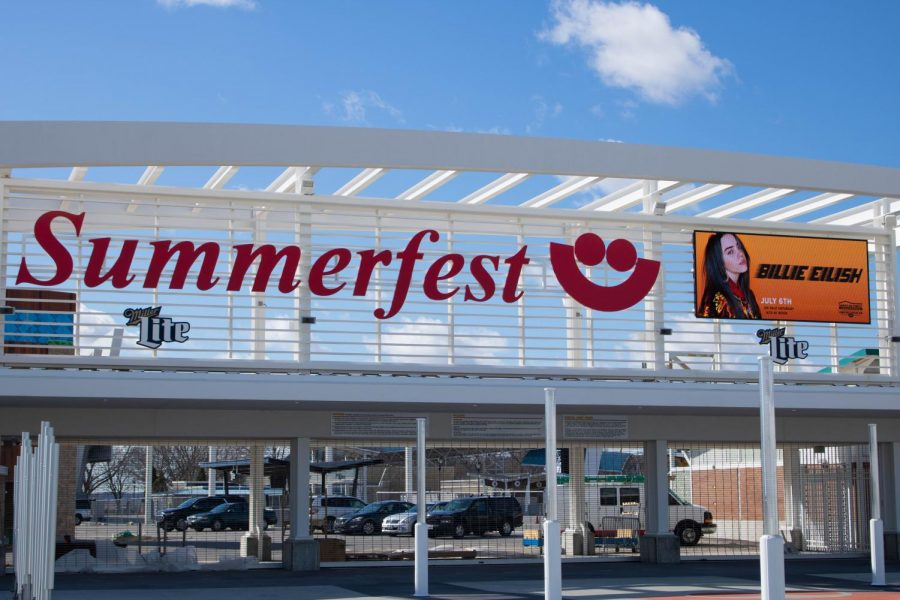 Summerfest+will+take+place+from+June+26-30+and+July+2-7+this+year.+