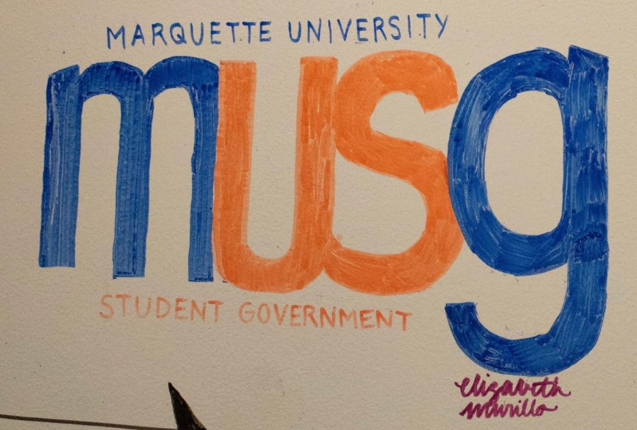 MUSG signed an amendment benefitting student organizations for the fall semester.