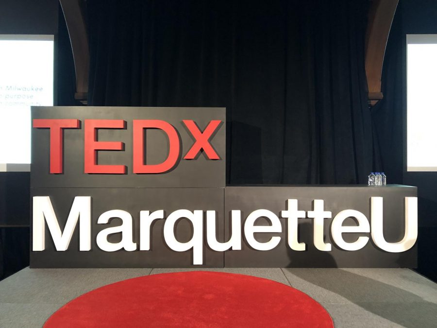 TedxMarquette had their first event Saturday.   Photo by Alex Garner