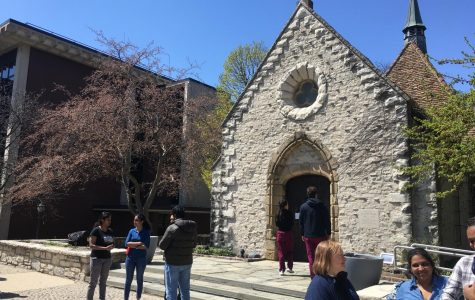 Prayer Vigil for Sri Lanka held at Saint Joan of Arc Chapel