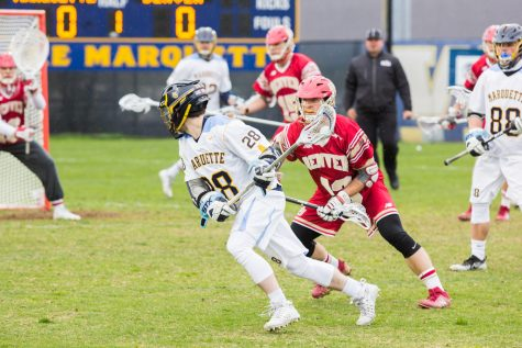 Men's lacrosse loses third straight with key contributors suspended